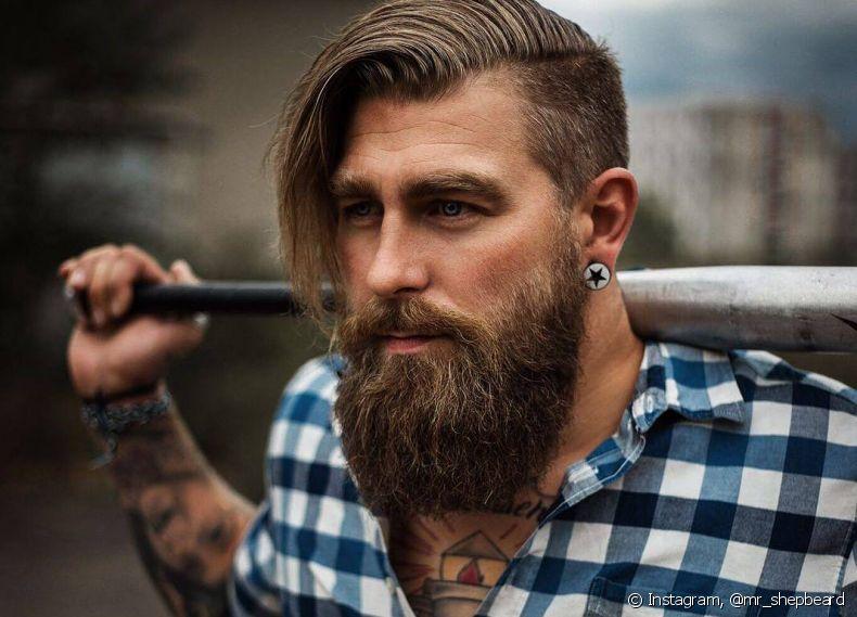 Homem com barba é mais atraente